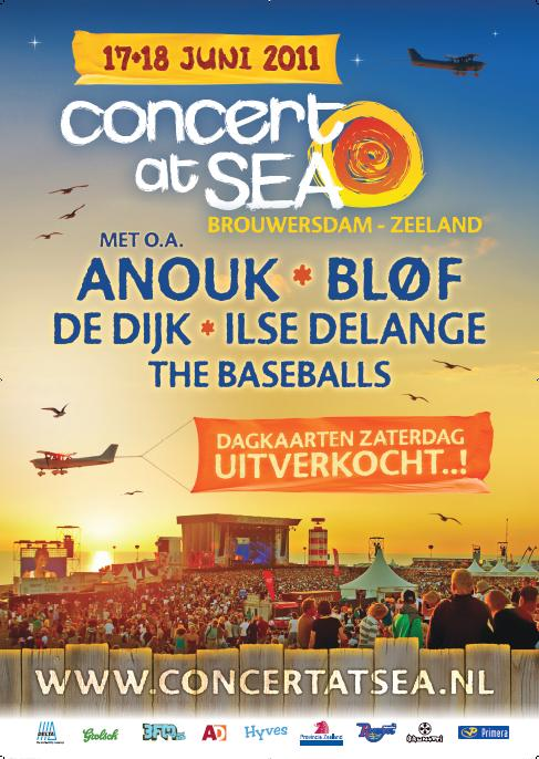 Concert At sea brouwersdam